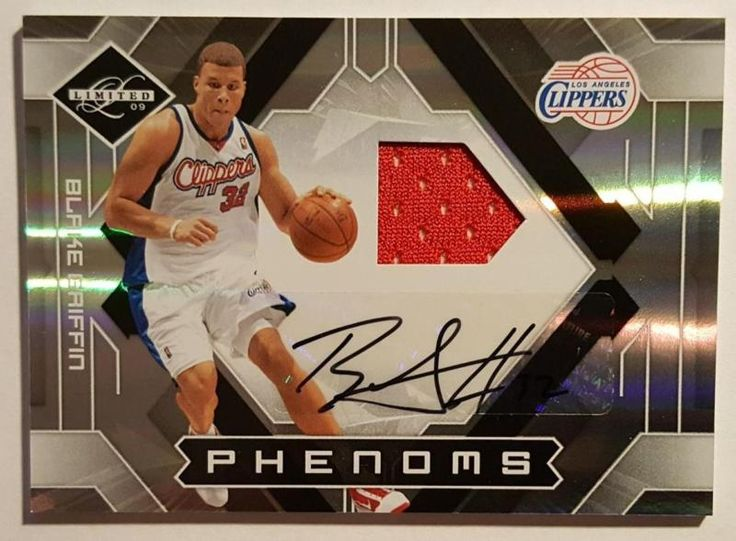 BLAKE GRIFFIN 2009 10 LIMITED PHENOMS ROOKIE AUTO JERSEY 082/299 TF