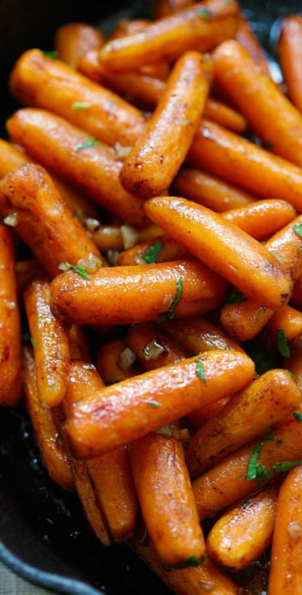 Honey Balsamic Carrots - oven-roasted carrots with honey balsamic glaze. The easiest and best balsamic carrots recipe ever   rasamalaysia.com