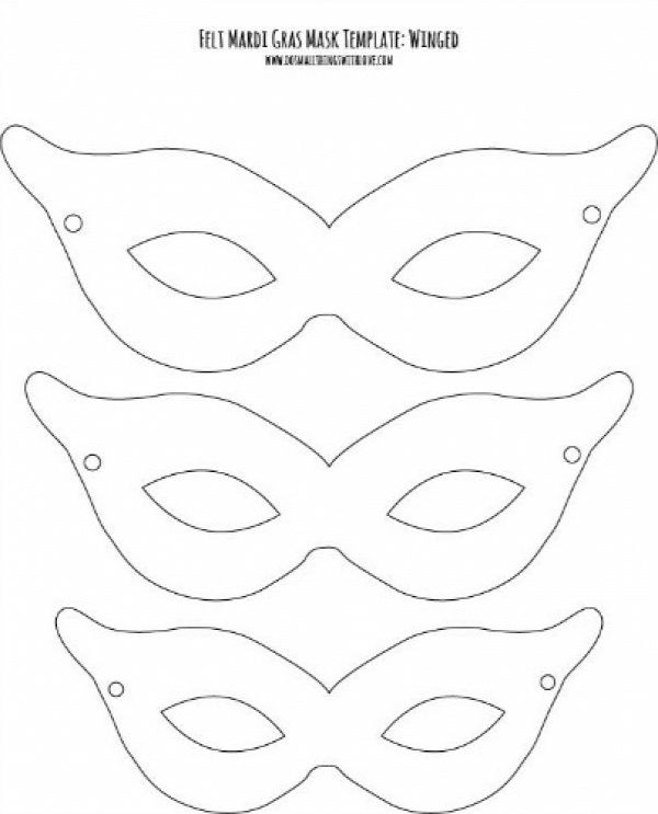 207 best AZ ÁLARC, FEJDÍSZ, KORONA images on Pinterest Carnivals - printable mask template