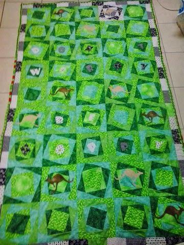 Aussie Hero Quilts (and laundry bags)
