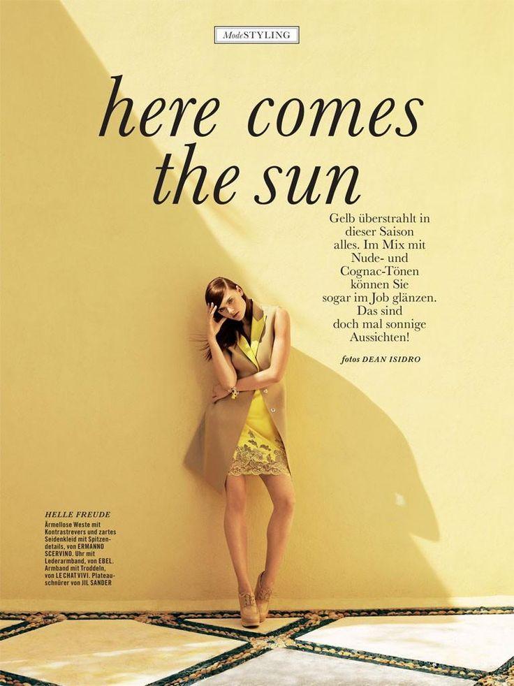 Zuzana Gregorova By Dean Isidro For Cover Magazine
