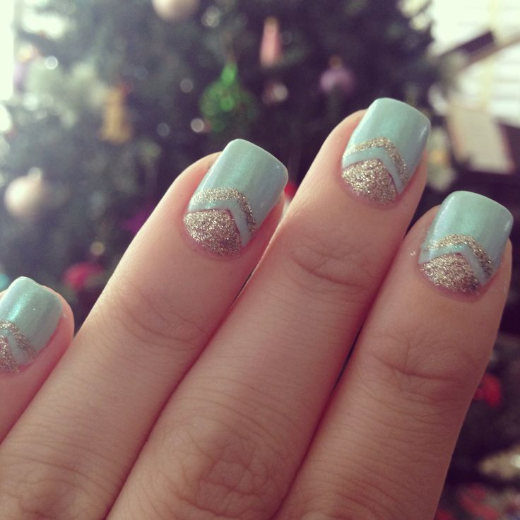 Gold For Prom Nail Ideas: Best 25+ Blue Gold Nails Ideas On Pinterest
