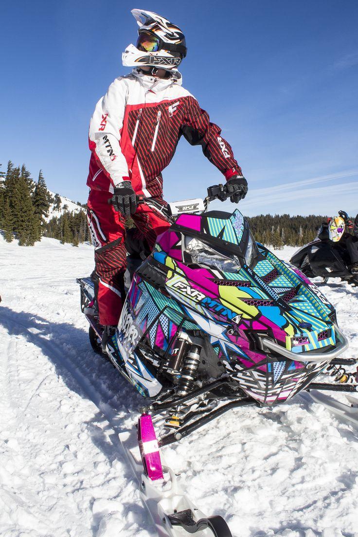 Fxr Racing - Nw Sledder - Maglie per motoslitta Gear Gear-9523