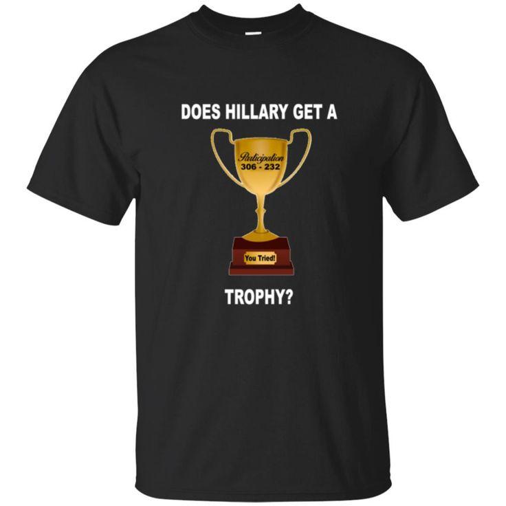 Funny Republican Shirt- Participation Trophy T-Shirt