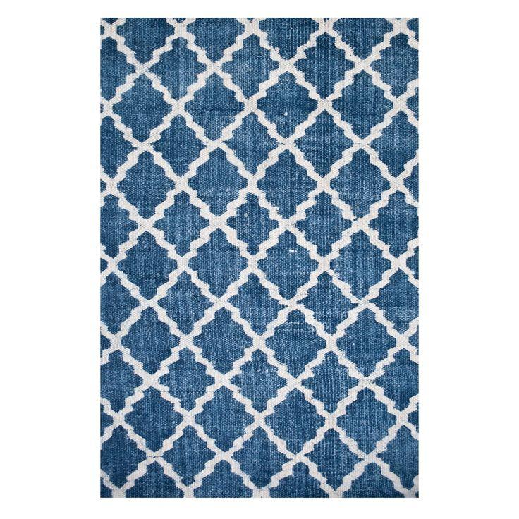 Stonewashed matto, sininen ryhmässä Matot @ ROOM21.fi (129620r)