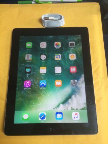 Apple iPad 4th Generation 16GB Wi-Fi 9.7in - Black