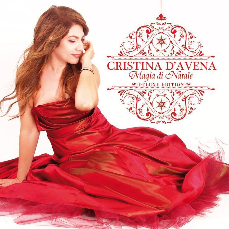 """CRISTINA D'AVENA """"MAGIA DI NATALE DELUXE EDITION""""18 NOVEMBRE 2014 NEW CD"""