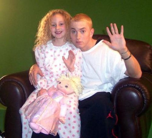 ~It is no secret that the rapper has a close bond with his daughter Hailie Jade Mathers (born December 25, 1995) given he has referenced her in many of his songs.