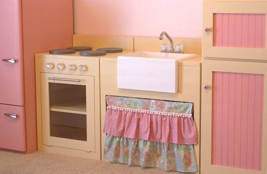 DIY Play Kitchen Tips – Make a Green and Affordable Play Kitchen