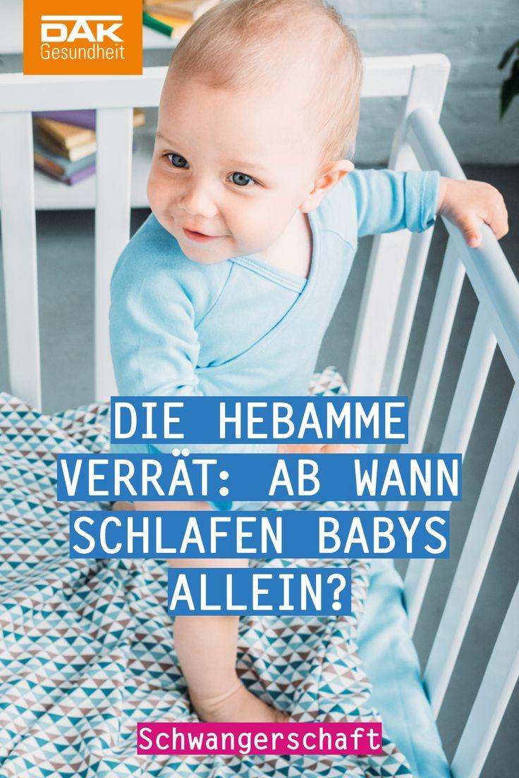 Ab wann sollte mein Baby im eigenen Bett schlafen?
