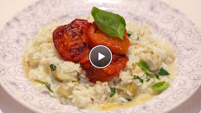 Risotto met gegrilde pomodori tomaten - recept | 24Kitchen
