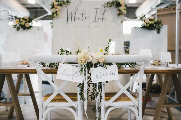 Set up by us. Blooms by Ivy Flowers, furniture by Heart Strings Hire and Style. Photography by Amanda Alessie