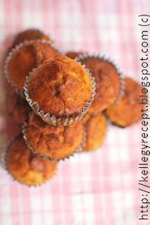 Mandy kertje és konyhája: Banános-mogyoróvajas muffin Rachel módra