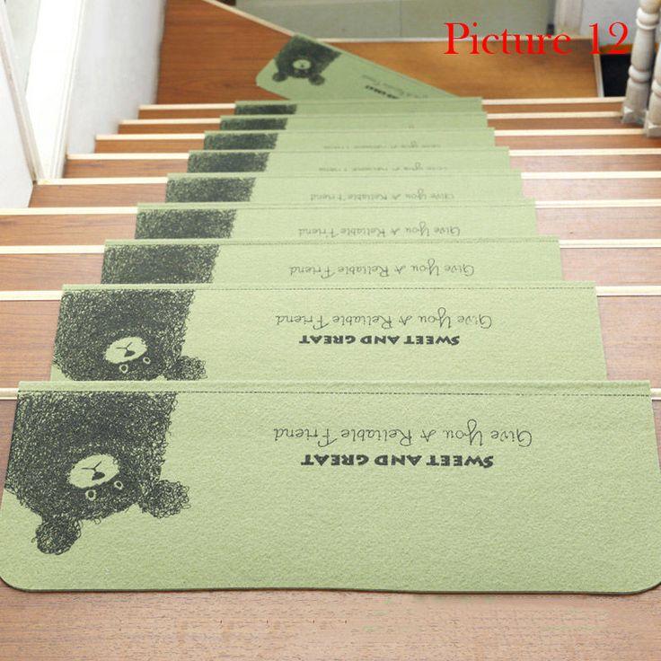 Best Stair Treads Anti Slip Stair Mats Rugs Pads Runner Mute 640 x 480