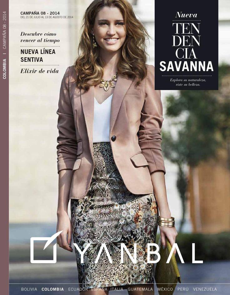 Yanbal catalogo campaña 8 julio agosto 2014