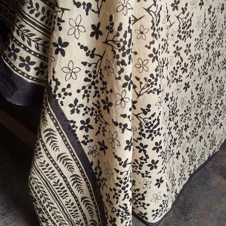 """This is the first scarf finished and feeling very pleased with the result - from botanical…"""""""