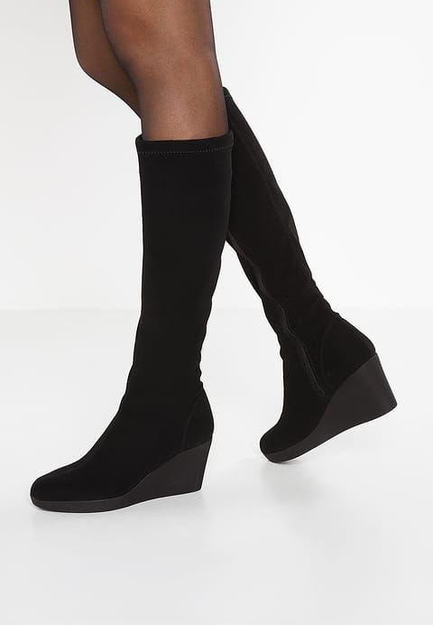 Rapisardi BLONDIE  - Platform boots - black - Zalando.co.uk