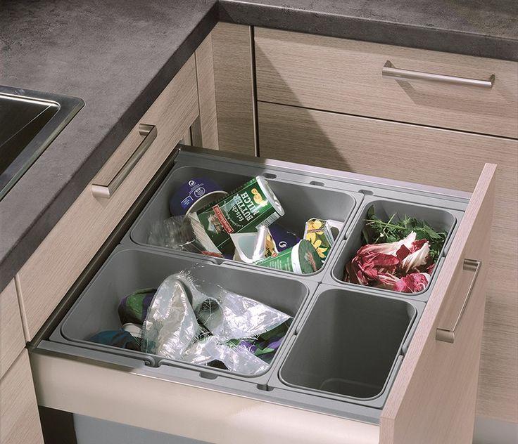 Grey Oak kitchen storage ideas