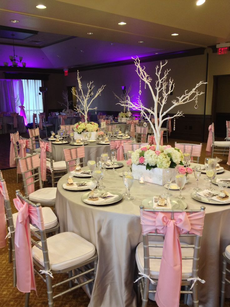 Gorgeous pink and grey wedding at Falcons Fire Golf Club in Kissimmee FL 497-390-0982