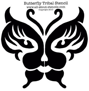 airbrush tattoo stencil | Airbrush Tattoo Stencils, Tribal Stencils and Free Stencils!