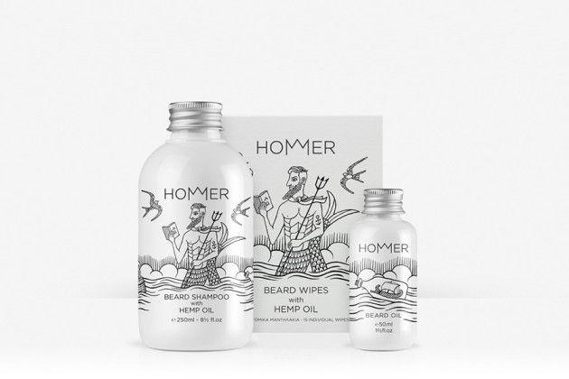 Frizzifrizzi » Per la barba di Omero: dalla Grecia una linea di prodotti per la cura della barba