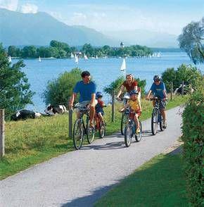Chiemsee-Radweg & Chiemsee-Rundweg - Radwandern auf 2 Varianten