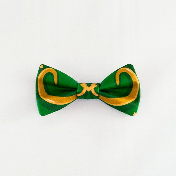 Loki Helmet Hair Bow Clip Cosplay Avengers Costume Bow Tie Bowtie on Etsy, Sold