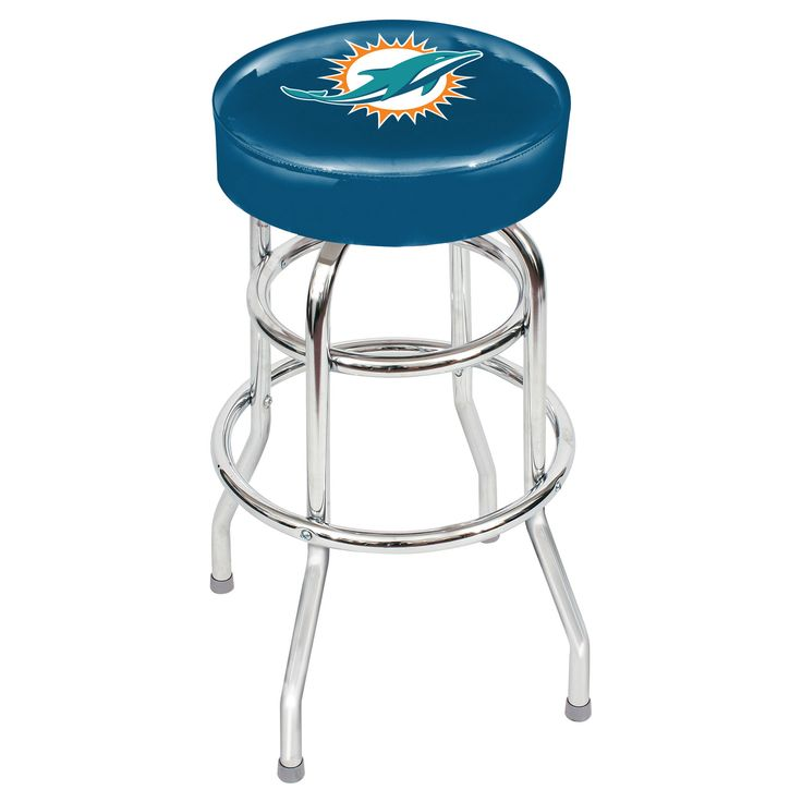 Miami Dolphins Game Room Stool