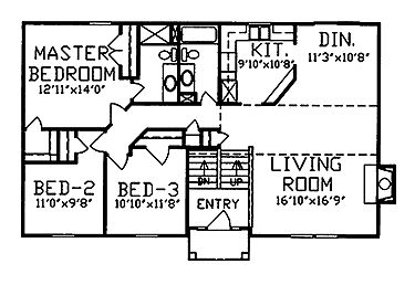 Home Plumbing Design furthermore 1 further 1 likewise 1970s Tri Level Floor Plan likewise 2011 05 01 archive. on bi level deck plans