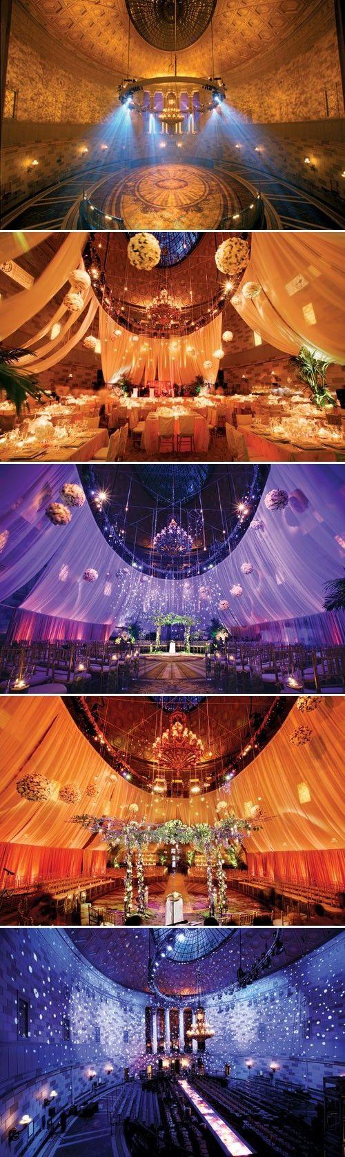 Eastern tiles and stunning lighting