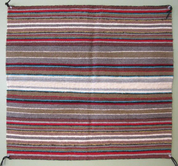 Small Square Navajo Rug 12864 By Cyberrug