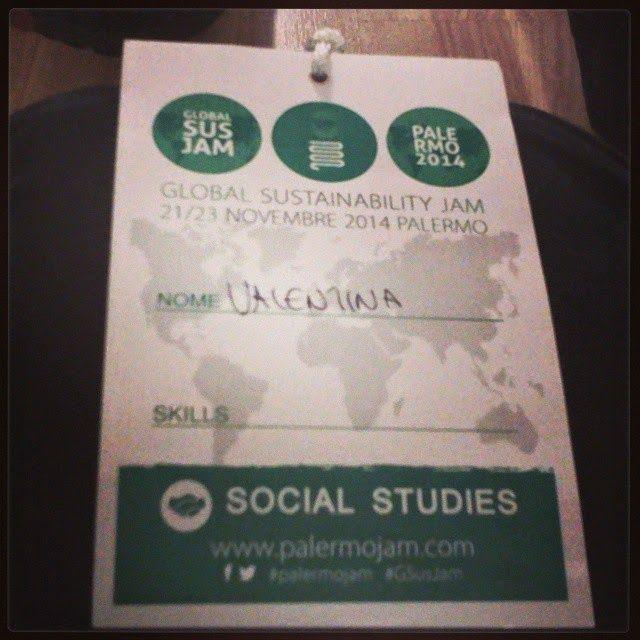 Diario di una Social Geek: Palermo Sustainability Jam 2014: un'esperienza indimenticabile!