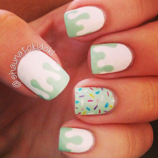 Instagram photo by shaunatokidoki #nail #nails #nailart