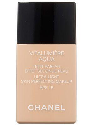 Chanel Vitalumire Aqua Ultra-Light Skin Perfecting Makeup | allure.com