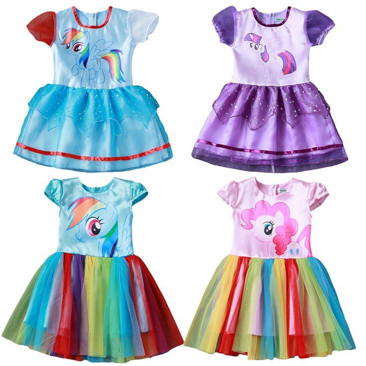 $5.66 (Buy here: https://alitems.com/g/1e8d114494ebda23ff8b16525dc3e8/?i=5&ulp=https%3A%2F%2Fwww.aliexpress.com%2Fitem%2FNew-2017-Children-s-cartoon-dress-summer-girls-short-sleeved-lace-dress-Girls-Princess-Birth-Anniversary%2F32777170815.html ) New 2017 Children's cartoon dress summer girls short-sleeved lace dress Girls Princess Birth Anniversary party dress for kids Cl for just $5.66
