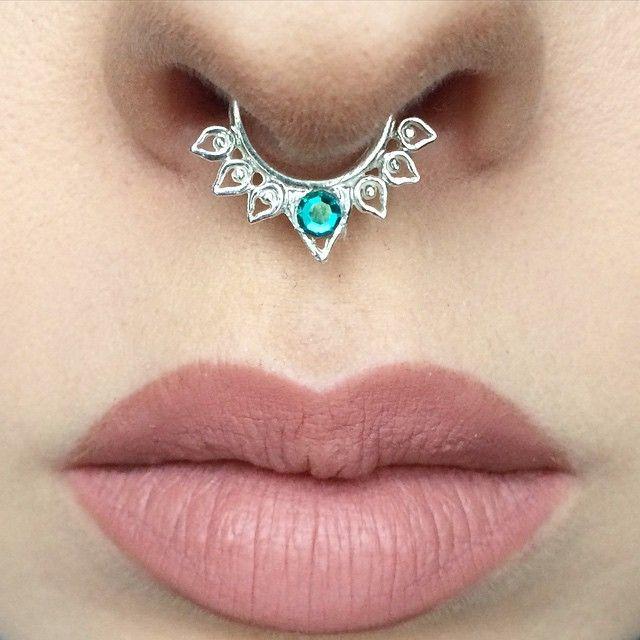 PURE HOLLYWOOD  Liquid Lipstick by @anastasiabeverlyhills and @norvina  || Septum @vidakush