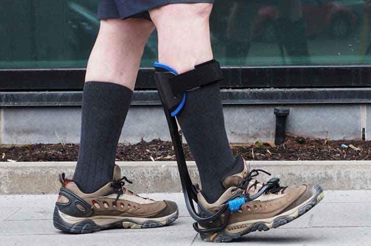 Walking Toe Drop Shoe