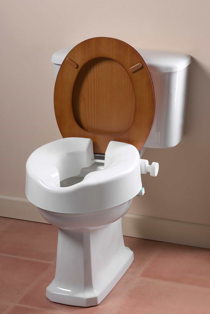 Bathroom Raised Toilet Seats For Extra Height