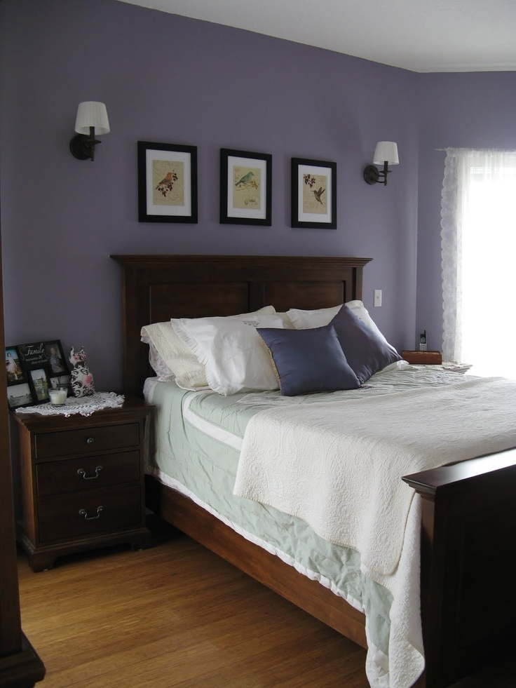 Purple Wall Bedroom Decor: 1000+ Images About My Bedroom Redo? On Pinterest