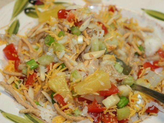 Javanese Dinner (a.k.a. Hawaiian haystacks)
