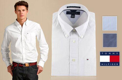 Ανδρικό πουκάμισο Tommy Hilfiger, 100% βαμβακερό και με επιλογή από 3 χρώματα, που θα αποτελέσει την...