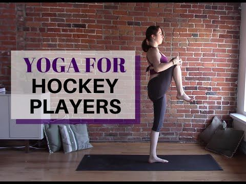 Yoga for Hockey Players - 30 Minute Yoga Class - YouTube