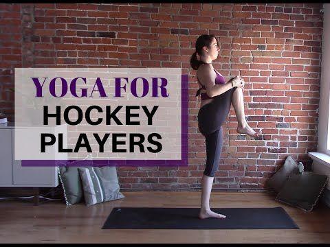 Yoga for Hockey Players - 30 Minute Yoga Class - YouTube