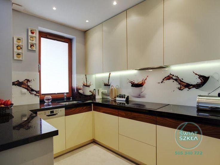 Szklane panele z grafiką,  nowoczesne rozwiązanie do kuchni i nie tylko