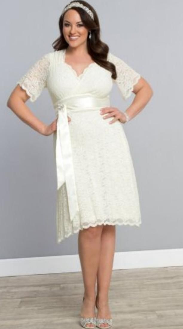 Plus size wedding dresses short - http://pluslook.eu/wedding/plus-size-wedding-dresses-short.html. #dress #woman #plussize #dresses