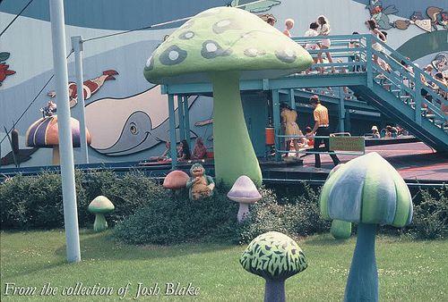 kings island 1972   Hanna-Barbera Land Enchanted Voyage Ride at Kings Island