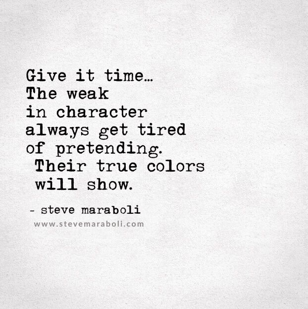 Give it time...