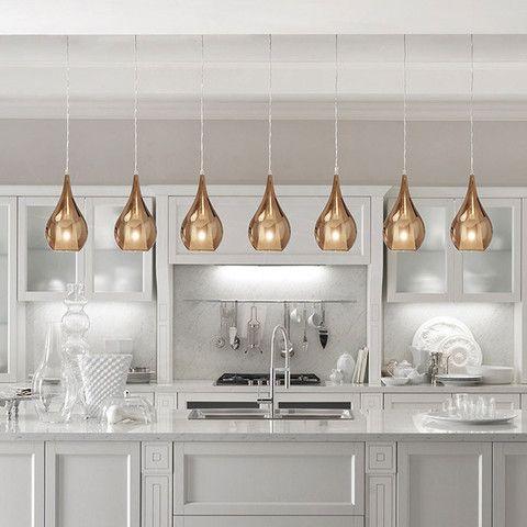 Z - Italian Glass Decorative Pendant Light - Singles