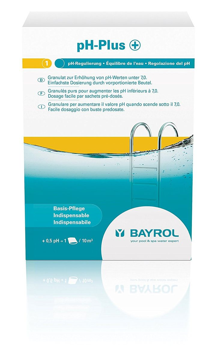 Bayrol pH-Plus 11 94812 3 pH Control Pool Tablets 1,500 g *** You can find out more details at the link of the image. #PoolsHotTubsandSupplies