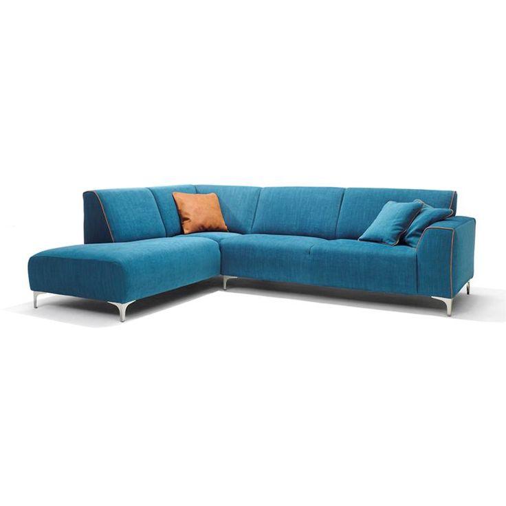 Hoekbank Patio is een prachtige vrolijke bank met goed zitcomfort. Leverbaar in vele stoffen en kleuren. Met fauteuil Canyon maakt u het plaatje helemaal compleet.